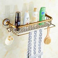 Полка в ванную Art Design Deco Бронза