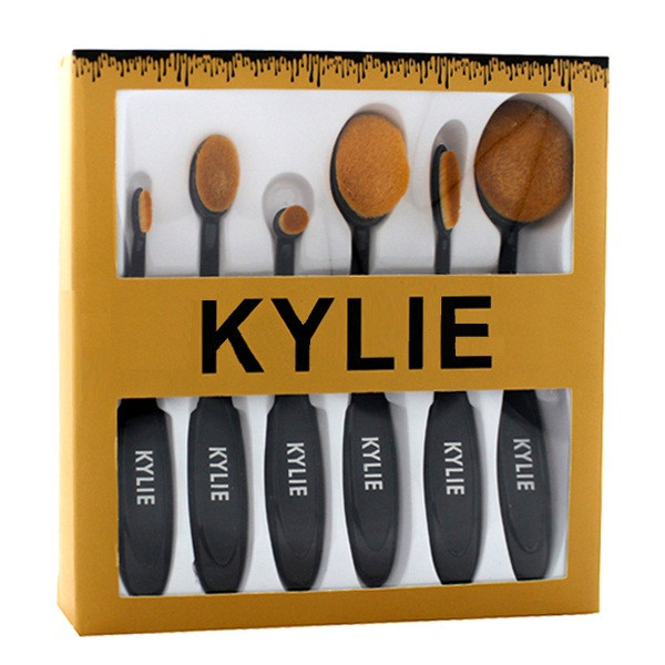 Набор кистей для корректирующих средств Kylie (6 шт.)