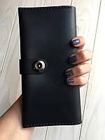 Кошелек женский кожаный Goose™ G0041 черный с монетницей, фото 1