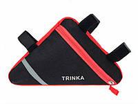 Велосумка подрамная Trinka Красная