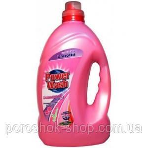 Жидкий гель для стирки Power Wash Sensitive-4л.