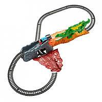 Железная дорога Thomas Friends TrackMaster Dragon Escape Set Томас Железная дорога побег от дракона FXX66 Fisher-Price