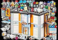 Playmobil 70190 Большой госпиталь с наполнением