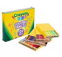 Цветные карандаши 120 уникальных цветов Крайола Crayola