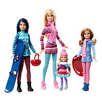 Барби с сёстрами на зимнем отдыхе Barbie Sisters Winter Getaway Fashion
