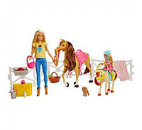 Набор Барби и Челси Верховая езда Barbie Hugs and Horses FXH15