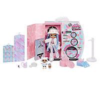 Кукла L.O.L. Surprise! O.M.G. Winter Disco Snowlicious Fashion Зимнее диско Снежный Ангел и сестричка 561828