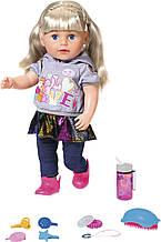 Лялька Baby Born Zapf Ніжні обійми Сестричка-Модниця з аксесуарами 43 см 824603