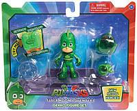Герои в масках PJ Masks лунные приключения Гекко Super Moon Adventure Gekko Green