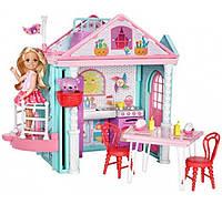 Домик развлечений Барби Челси с лифтом Barbie DWJ50 FAMILY Chelsea