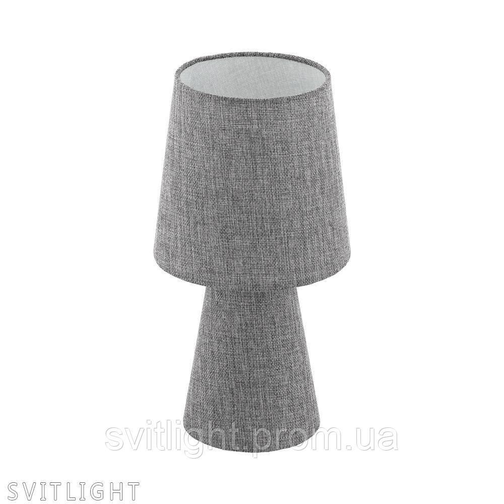 Серая настольная лампа 97122 Eglo