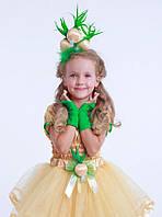 Обруч к карнавальному костюму Лук, ободок для волос  и брошка Луковица, луковка, луковичка