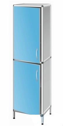 Шкаф медицинский (лабораторный) с двумя дверками Праймед