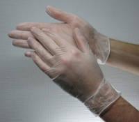 Перчатки Виниловые без пудры (100шт) S, M, L