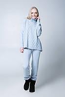 SEWEL Свитер SW409 (46-48, серо-голубой, 60% акрил/ 30% шерсть/ 10% эластан)