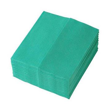 Салфетки для уборки TEMCA Profix, 32х36см, 32 шт, 4 цвета: Зеленый