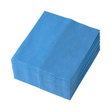 Салфетки для уборки TEMCA Profix, 32х36см, 32 шт, 4 цвета: Синий