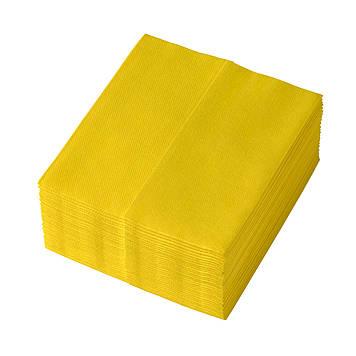 Салфетки для уборки TEMCA Profix, 32х36см, 32 шт, 4 цвета: Желтый