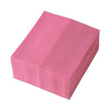 Салфетки для уборки TEMCA Profix, 32х36см, 32 шт, 4 цвета: Красный