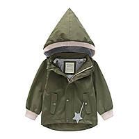 Куртка для мальчика Комфорт, Хаки Meanbear