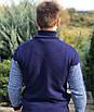 Мужской теплый свитер со змейкой под горло, размеры: 50-52, 54-56, Состав: 70% шерсти, 30% акрила, фото 2