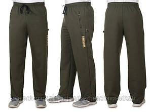 Мужские теплые штаны из двухнити, размеры: 50, 52, 54, 56, 4 цвета - черный, темно-синий, светло-серый, хаки