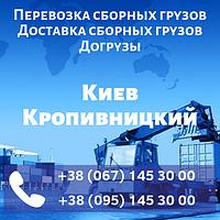Перевозка сборных грузов Киев Кропивницкий. Доставка сборных грузов. Догрузы.