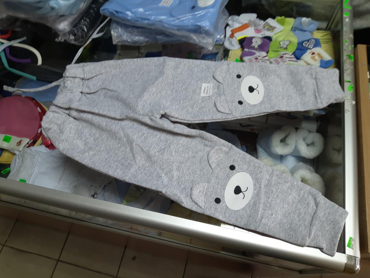 Детские брюки утепленные р.68 - 110