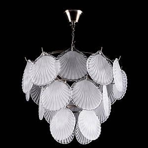 Класична люстра з декором на 5 лампочок P5-E1731/5/AB