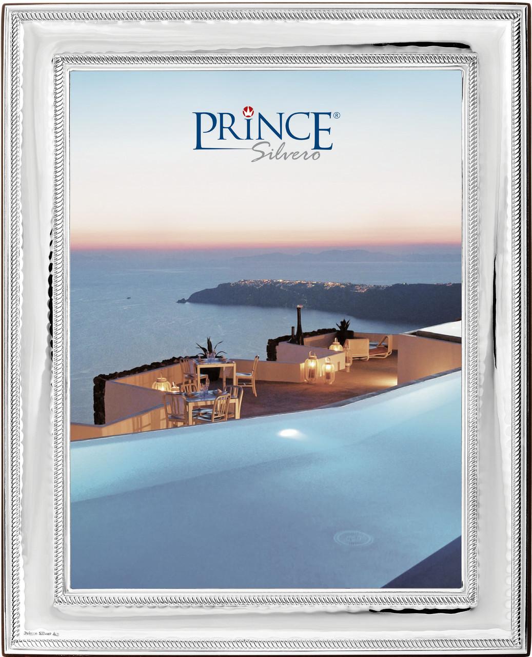 Серебряная рамка для фото Prince Silvreo