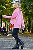 Женский вязаный джемпер с удлиненной спинкой (3805-3807-3788-3801-3804 svt), фото 2
