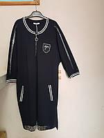 Платье спортивное батальное черное Sirius, фото 1
