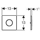 Устройство смыва GEBERIT SIGMA 10 116.015.SN.1, фото 4