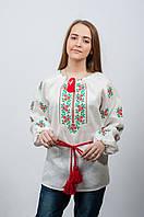 Женская украинская вышиванка Розочки Комсомольськ