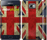 "Чехол на Samsung Galaxy S2 i9100 Флаг Великобритании 3 ""402c-14"""