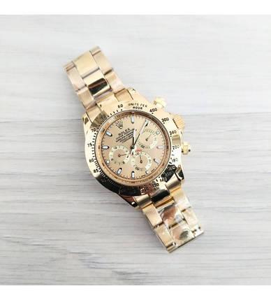 Мужские часы Rolex Daytona AA Gold New, механические часы Ролекс Дайтона, элитные часы реплика АА, фото 2