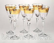 Набор бокалов для вина Crystalex 6 штук 190 мл