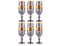 Набор бокалов для шампанского Nb Art Медуза 6 штук 180 мл