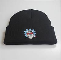Шапка Рик и Морти черная Rick and Morty Limited Edition