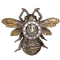 Часы настенные Пчела Стимпанк Veronese 21 см 77408A4