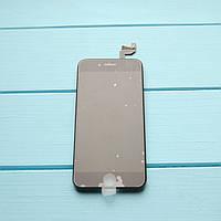 Оригинальный дисплейный модуль с переклеенным стеклом Apple iPhone 6s, черный