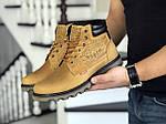 Мужские ботинки Levis (горчичные) ЗИМА, фото 2