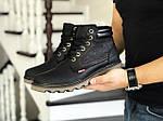Мужские ботинки Levis (черные) ЗИМА, фото 2