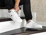 Мужские кроссовки Lacoste (бело-зеленые), фото 4