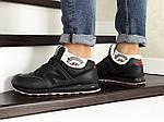 Мужские кроссовки New Balance 574 (черно-коричневые) ЗИМА, фото 4