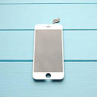 Оригинальный дисплейный модуль с переклеенным стеклом  Apple iPhone 6s, белый
