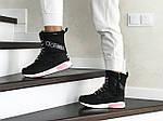 Женские зимние дутики Adidas (черно-белые), фото 2