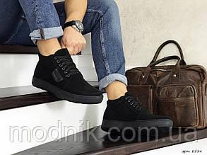 Чоловічі черевики Vankristi (чорні) ЗИМА
