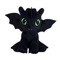 Мягкая игрушка дракон Беззубик (ночная фурия), Украина, 00688-1