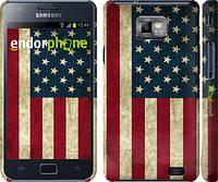 "Чехол на Samsung Galaxy S2 i9100 Флаг США ""395c-14"""